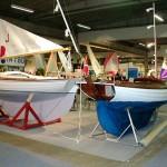 GFK und Holz auf der Bootsausstellung friedlich vereint (2003)